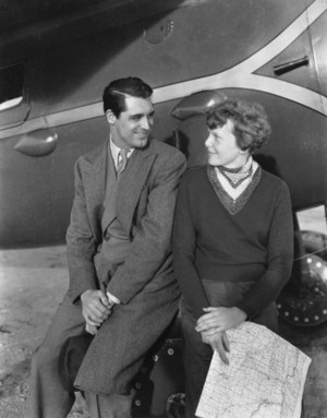 Cary Grant meeting Amelia Earhart