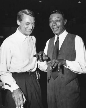 Cary Grant and Nat King Cole