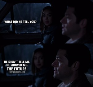 Castiel/Kelly Fanart - The Future