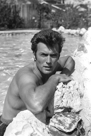 Clint Eastwood photo shoots 1960's