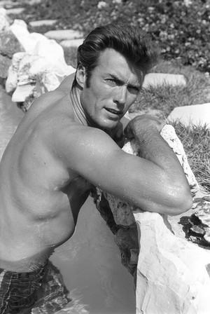 Clint Eastwood photo shoots