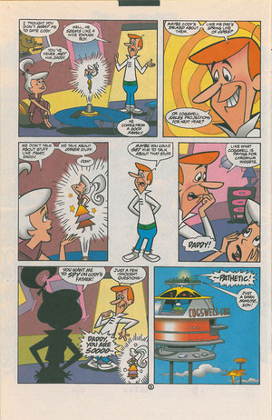 DC The Jetsons Comic Panel