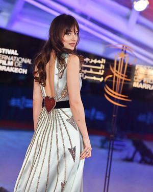 Dakota at the Marrakech Film Festival