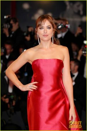 Dakota at the Venice premiere of 'Suspiria'