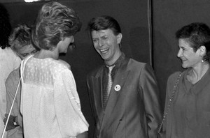 David Bowie And Princess Diana