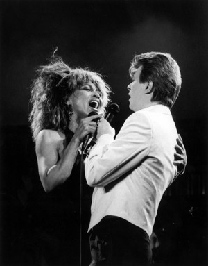 David. Bowie And Tina Turner