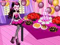 Draculaura's New Year Party - monster-high fan art