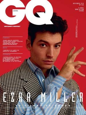Ezra Miller - GQ Espana Cover - 2018