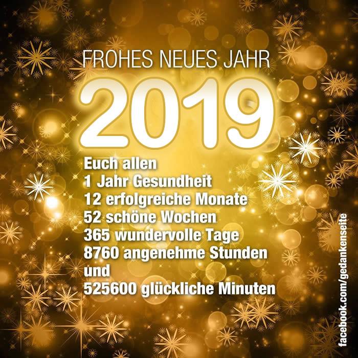 Bilder Frohes Neues Jahr 2019 Neujahrswünsche 2019 10 29
