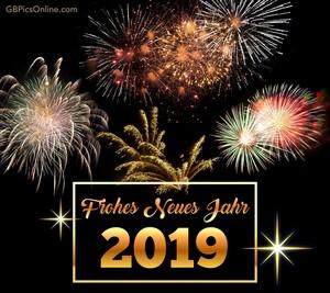 Frohes Neues Jahr 🕛🎆🍾🥂🎇