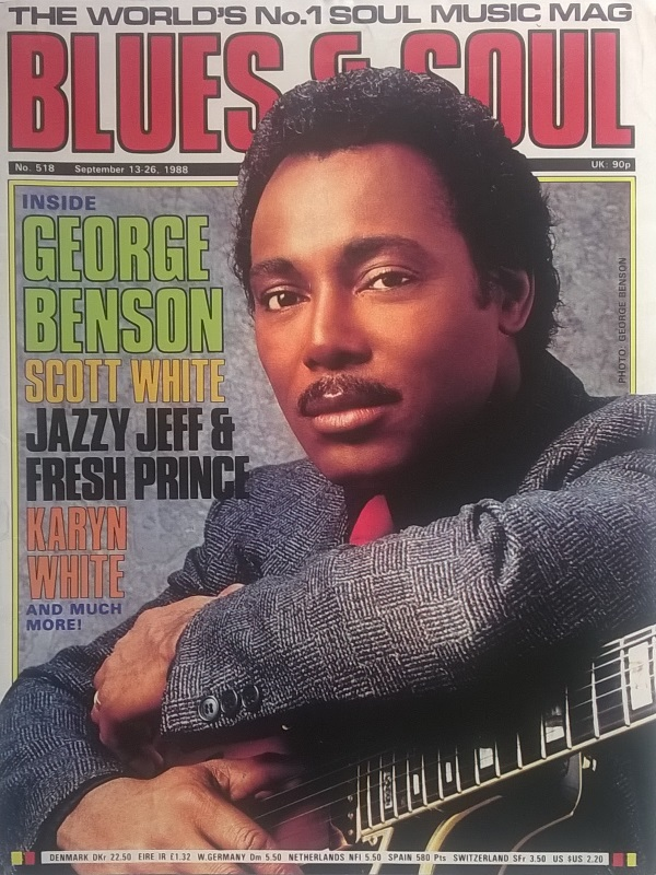 80's music images George Benson On The Cover Of Blues And