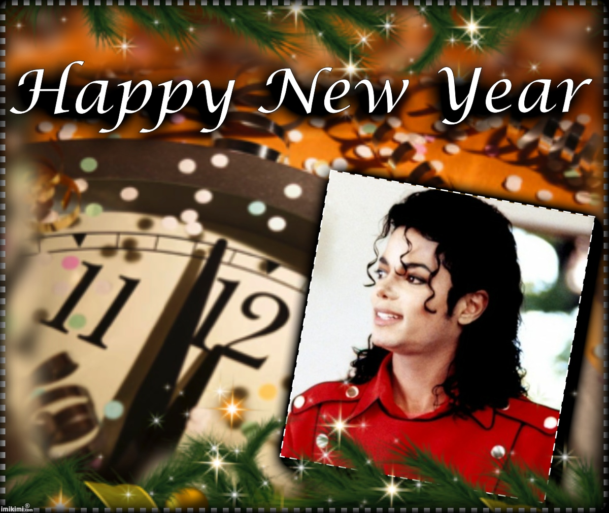 HAPPY NEW YEAR, MICHAEL!