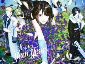 HAPPY NEW año Seifer Rinoa Squall