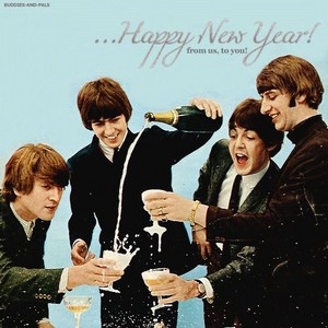 Happy New tahun from the Beatles!🥂