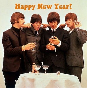 Happy New an from the Beatles!🥂