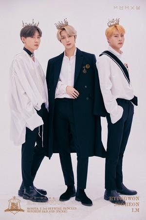Hyungwon, Jooheon and I.M