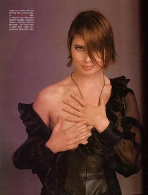 Isabella Rossellini 由 Steven Meisel Vogue Italia