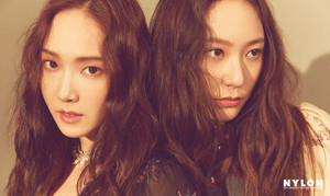 Jessica and Krystal - Nylon January 2019