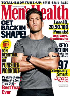 Jon Bernthal - Men's Health Cover - 2019