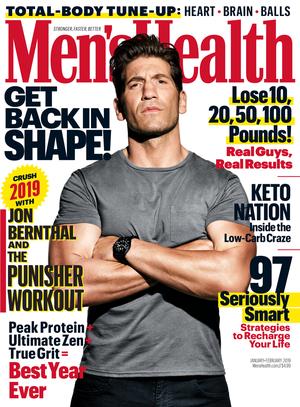 Jon Bernthal - Men's Health Cover - 2019