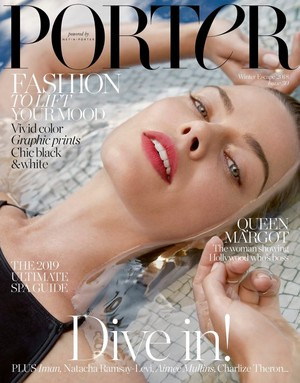 Margot Robbie - Porter Magzine Cover - 2018