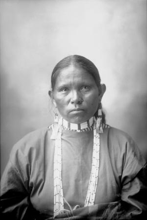 Mary Richards (Lipan Apache) Frank A Rinehart - 1898