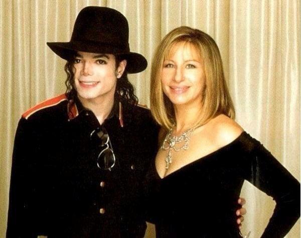 Michael And Barbra Streisand