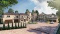 Modern vila, vivenda, villa fotografia Realistic rendering design ideas.