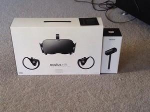 My new Oculus Rift!
