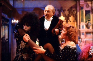 Paul, Billy Barty, and Roz Kelly -Hollywood, California…October 29, 1976