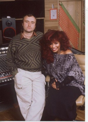 Phil Collins And Chaka Khan