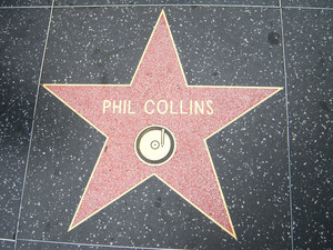 Phil Collins ngôi sao Walk Of Fame