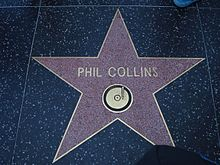 Phil Collins Walk Of Fame