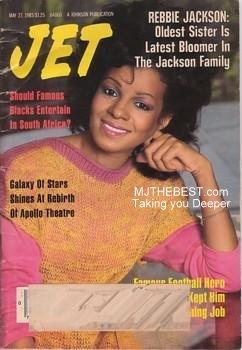 Rebbir Jackson On The Cover Of Jet