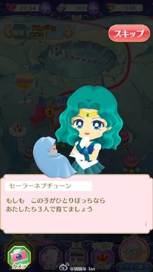 Sailor Moon Drops -Sailor Neptune and Sailor Saturn