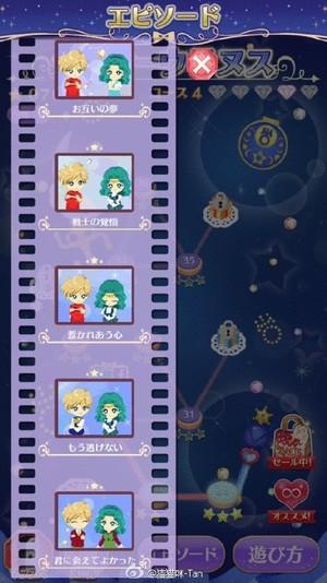 Sailor Moon Drops - Sailor Uranus and Sailor Neptune