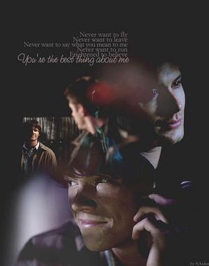 Sam/Dean Fanart - The Best Thing