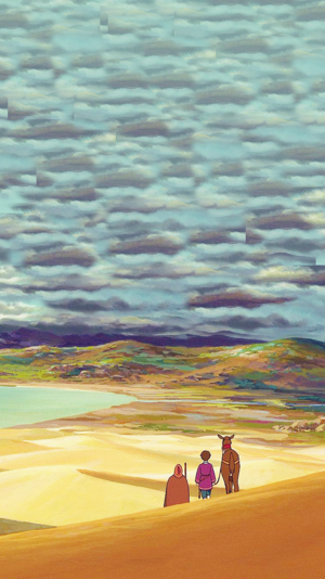 Tales from Earthsea Phone Background