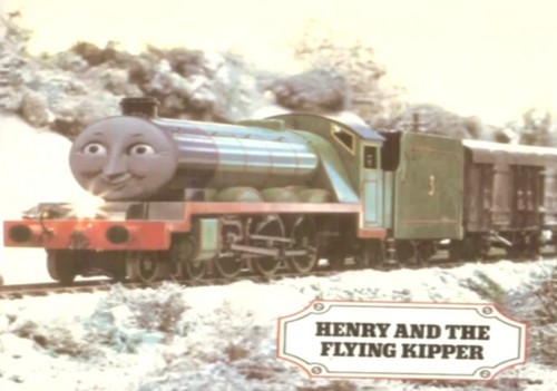 Thomas the Tank Engine Hintergrund entitled The Flying Kipper
