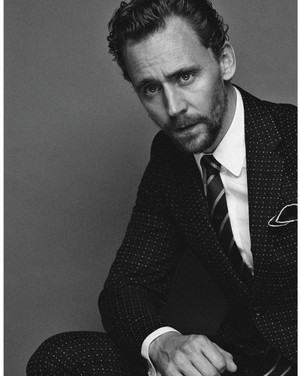 Tom Hiddleston in Style Magazine Italia (November 1, 2017)
