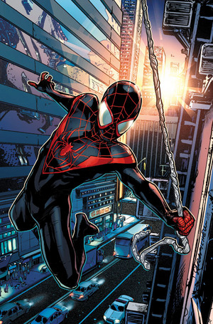 Ultimate Comics मकड़ी Man Vol 2 1 Pichelli Variant Textless