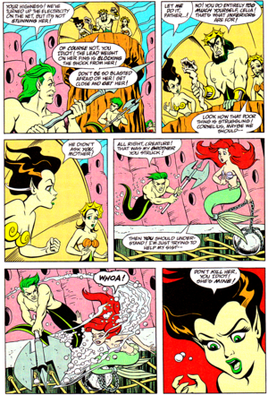 Walt Disney Comics - The Little Mermaid: Serpent Teen (English Version)