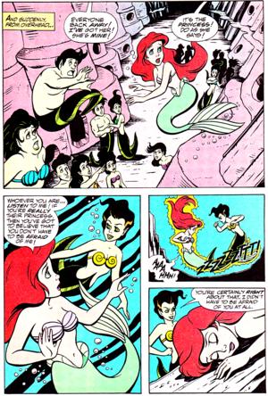 Walt Disney Comics - The Little Mermaid: Serpent Teen (English Version)