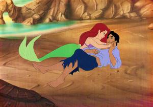 Walt Disney Images - Princess Ariel & Prince Eric