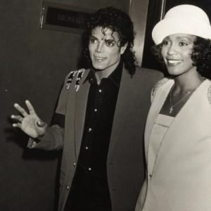 Whitney Houston And Michael Jackson