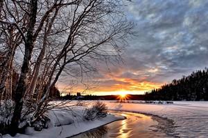Winter landscape ❄️