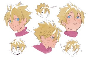 boruto hair