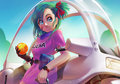 bulma - dragon-ball-z fan art
