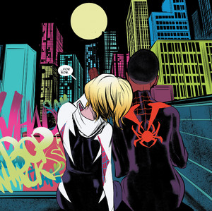 miles morales and spinne gwen