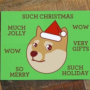 perrito, cachorro navidad card